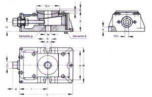 Disegno base livellatore Fix Level - AMU Princigalli